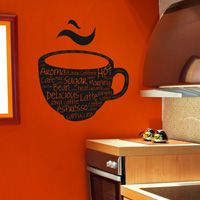 Coffee Words - Wall Decals