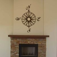 Compass Rose - Wall Decals