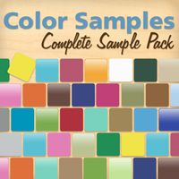 Complete Color Sample Pack - Wall Decals