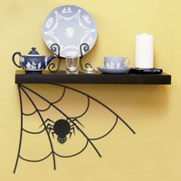Corner Spiderweb - Halloween - Wall Decals