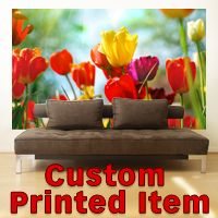 Custom Printed Wall Decals and Murals