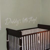 Daddy's Little Angel  - Quotes - Wall Decals