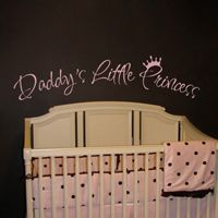 Daddy's Little Princess - Quotes - Wall Decals