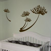 Dandelions - Set of FOUR - Wall Decals