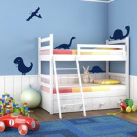 Dinosaurs - Set of 5 - Wall Decals