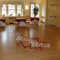 Personalized Wedding Reception - Dance Floor Decals