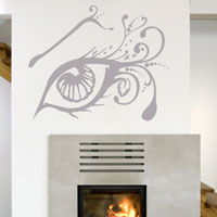 Exotic Intricate Eye -  Wall Decal