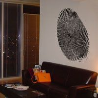 Giant Fingerprint - Wall Decals