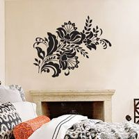 Victorian Flowers - Floral Arrangement - Vinyl Wall Decals