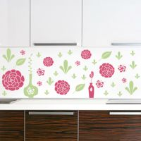 Flowers and Vases - Wall Decals