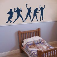 Football Players - Series - Wall Decals