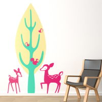 Forest Creatures - Wall Decals