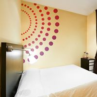 Giant Colorful Circles & Dots - Printed Wall Decals