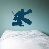 Hockey Goalie - Wall Decals