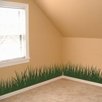 Grass - Set of 4 - Wall Decals