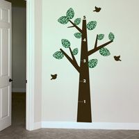 Growth Chart - Tree - Wall Decals