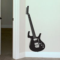 Guitar - Music - Rocker - Wall Decals