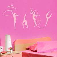 Rhythmic Gymnastics - Dance - Set of 4 - Wall Decals