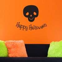 Halloween Skull - Wall Decals