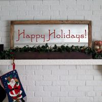 Happy Holidays - Holiday Wall Decals
