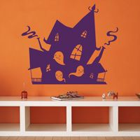 Haunted House - Wall Decals