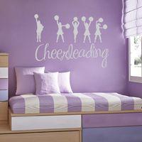 I love Cheerleading - Sports - Wall Decals
