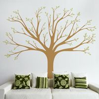 Lively Family Tree - Wall Decals