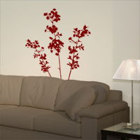 Large Cherry Blossoms - Flowers and Branches - Set of Three - Wall Decals