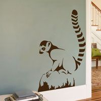 Lemur - Animal Graphics - Wall Decals