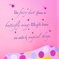 Like Fairy Dust - Quote - Wall Decals