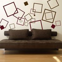 Lots of Squares - Set of 60 - Wall Decals