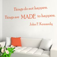 Made to Happen - Quote - Wall Decals