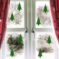 Mini Christmas Trees - Winter - Set of 8 - Wall Decals