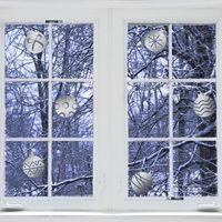 Mini Ornaments - Winter - Set of 6 - Wall Decals