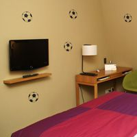 Mini Soccerballs - Set of 10 - Wall Decals
