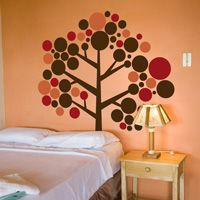 Mod Circle Tree - Simple and Adorable! - Wall Decals