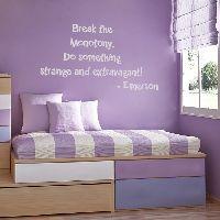 Break the Monotony - Kids' Inspiration - Wall Words & Decals