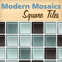 Modern Mosaics - Square Mosaic Tile Wall Decals