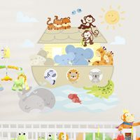 Noah's Ark Animals - Printed Wall Decals