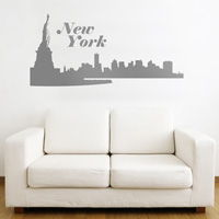 New York City Skyline - Wall Decals