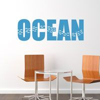 Beach - Sea - Ocean - Wall Decals