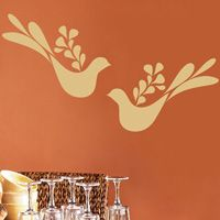Peace Doves - Set of Two - Wall Decals