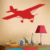 Airplane Decal - Wall Decals