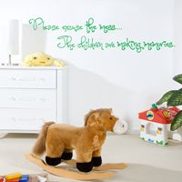 Please excuse the mess... - Quote - Wall Decals
