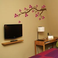 Polkadot Blossom Branch - Wall Decals
