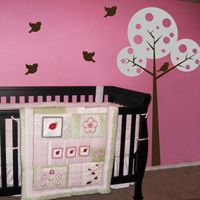 Polkadot Circle Tree - Wall Decals