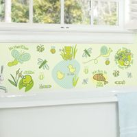 Pond Friends - Frogs & Bugs - Printed Wall Decals