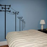 Powerlines - Wall Decals