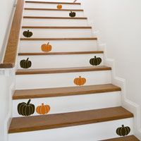 Little Pumpkins - Set of 7 - Fall & Holiday Wall Decals