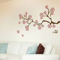 Romantic Blossom Branch - Wall Decals